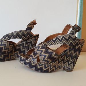 Croma Vintage Womens Wedge Platform Sandals